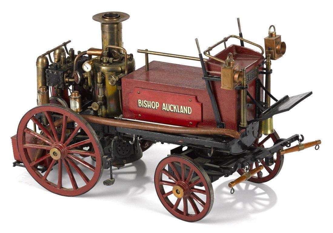 Bishop Aukland fire pumper model, finely deta