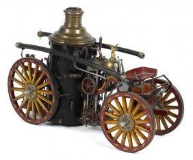 Elaborate craftsman made model of a ca. 1900 hor