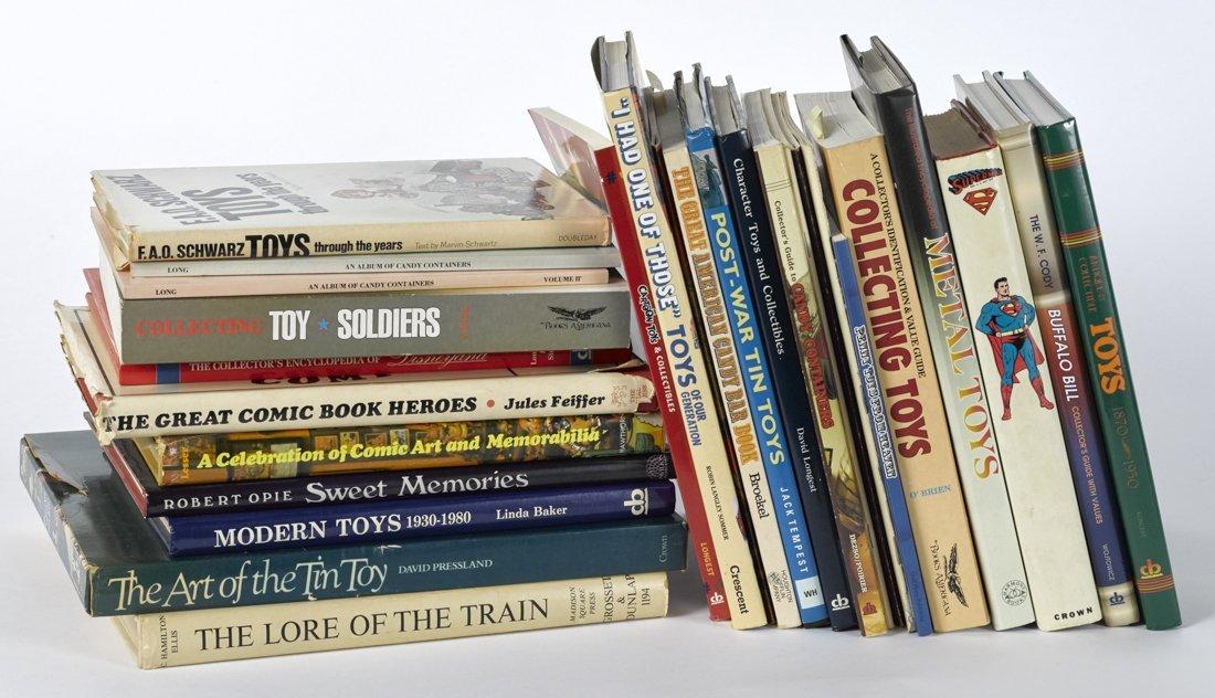 Twenty-seven toy-related books.