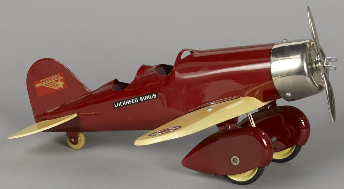 Steelcraft pressed steel Lockheed Sirius airpl