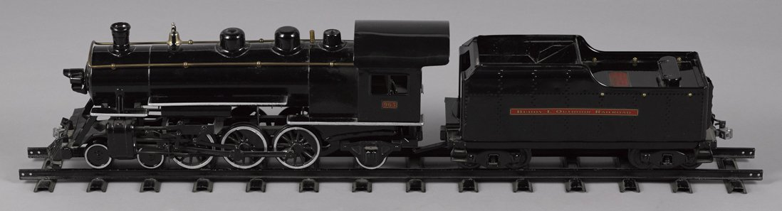 Buddy L Outdoor Loco and Tender, to include sev