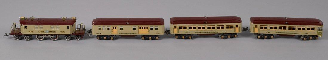 Ives O Gauge no. 1694 restored passenger train s