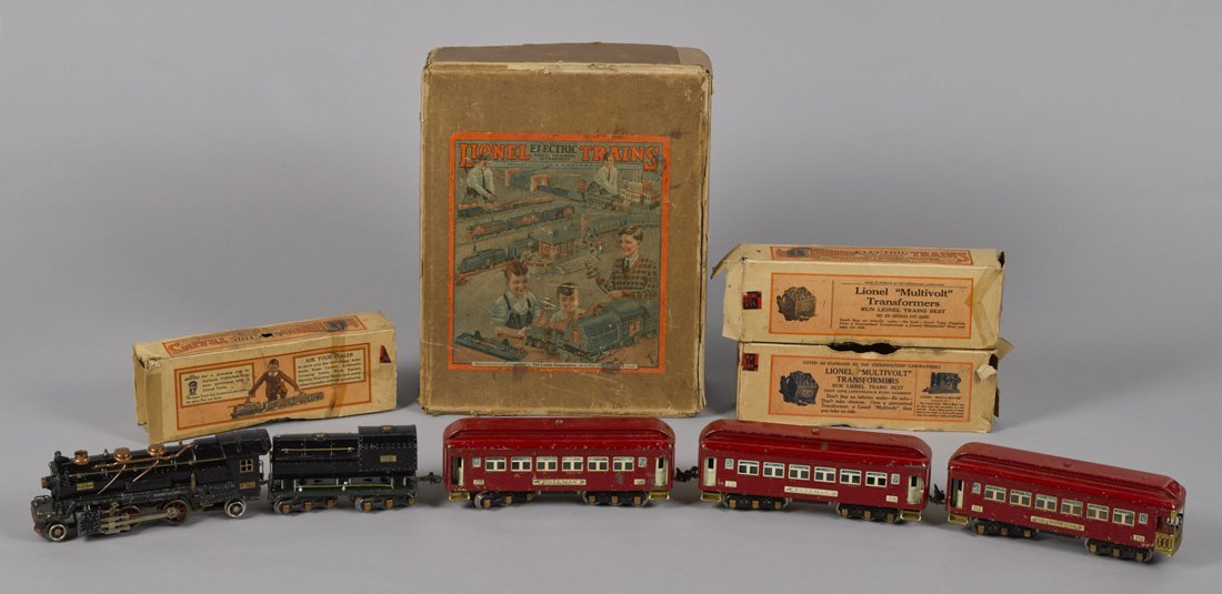 Lionel pre-war O Gauge no. 241E five-piece train
