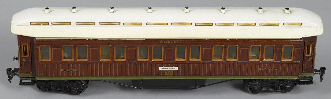 Marklin Gauge I Mitropa sleeping train car, 53
