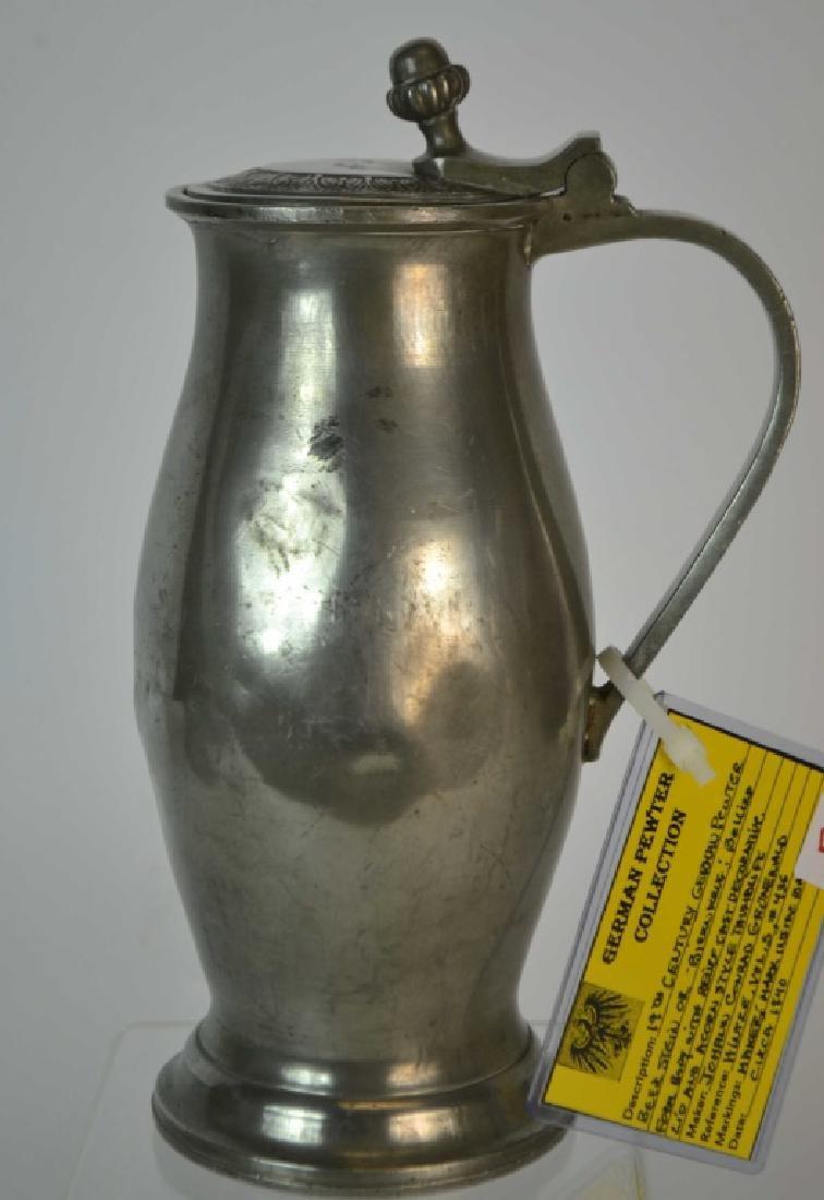 19th Century German Beer Stein or Biernkrug