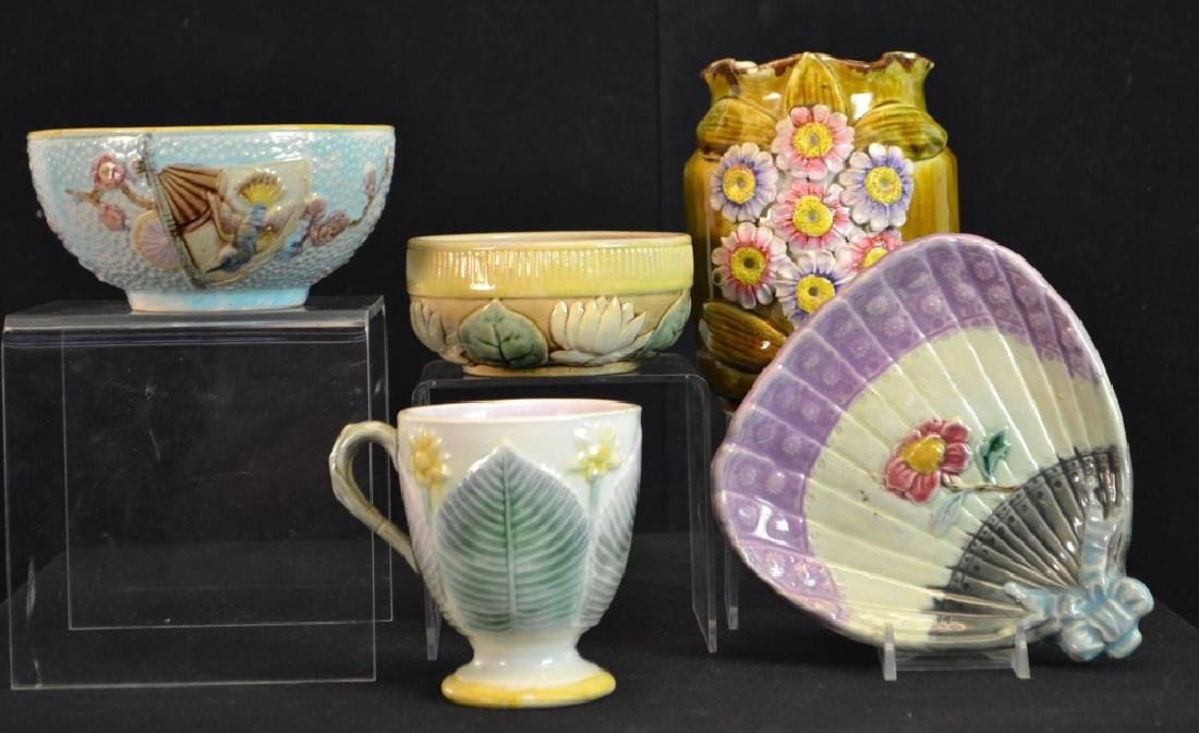 Collection of Majolica