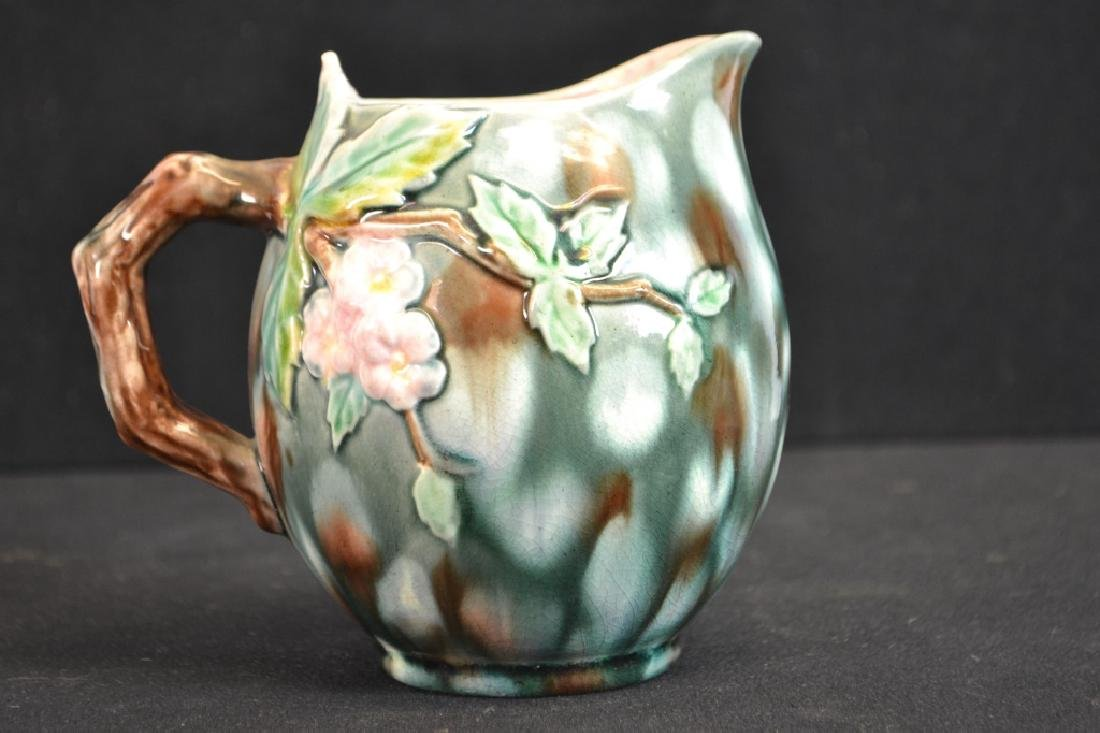 Etruscan Majolica Pitcher