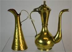 Imperial Russian Brass Pitcher  Ewer