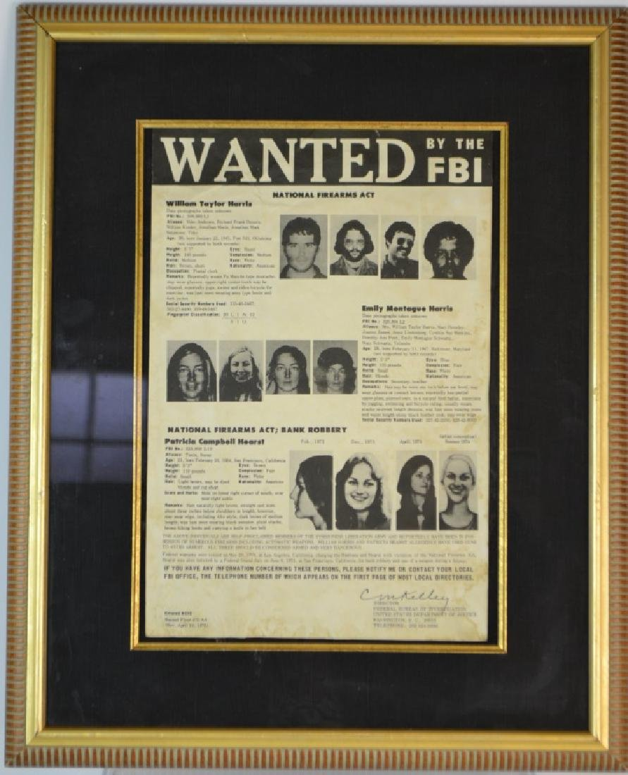 Authentic FBI Wanted Poster