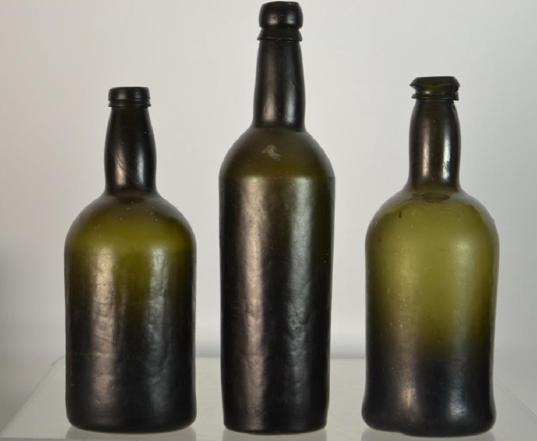 Three 19th C Bottles