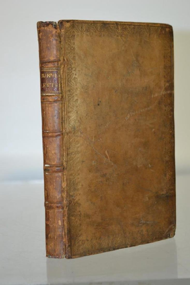 17th C Leather Bound Book, Three Letters (1688)