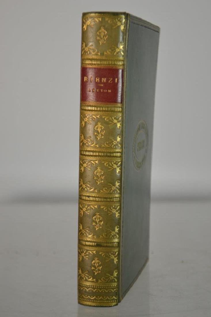 Rienzi; The last of the Roman Tribunes Rare Book - 4