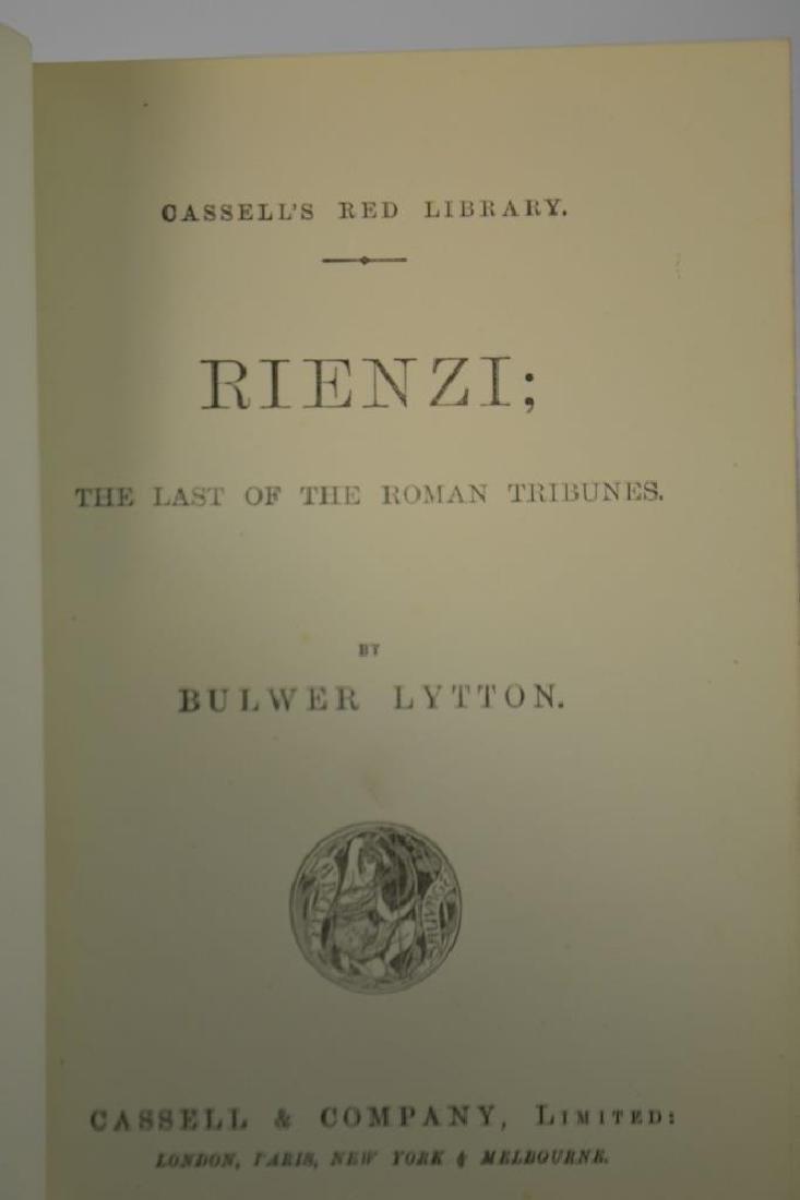 Rienzi; The last of the Roman Tribunes Rare Book - 5