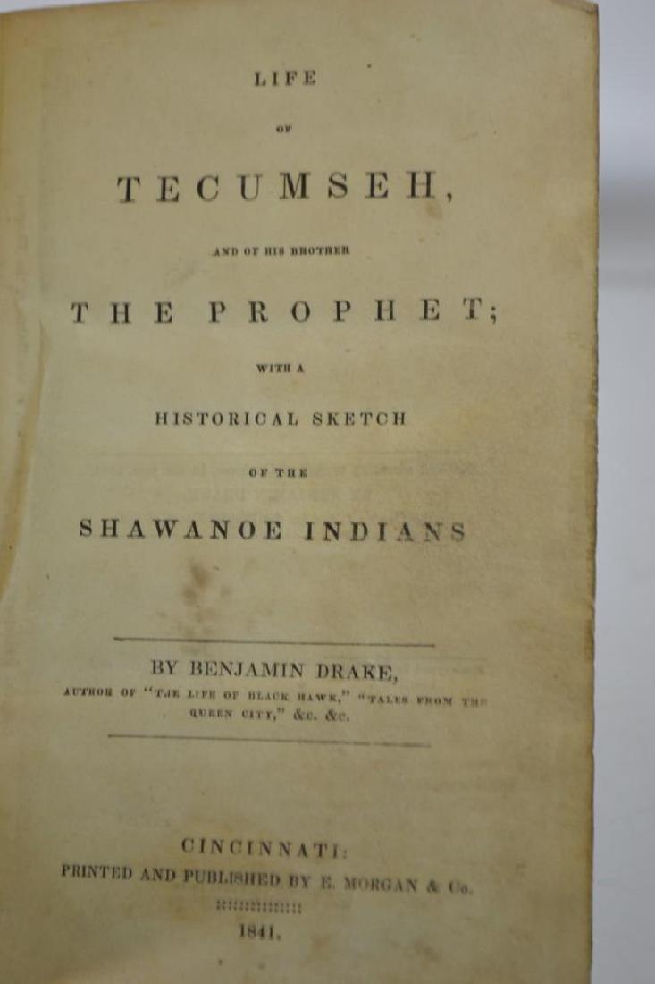 19th C Life of Tecumseh (1841) - 2