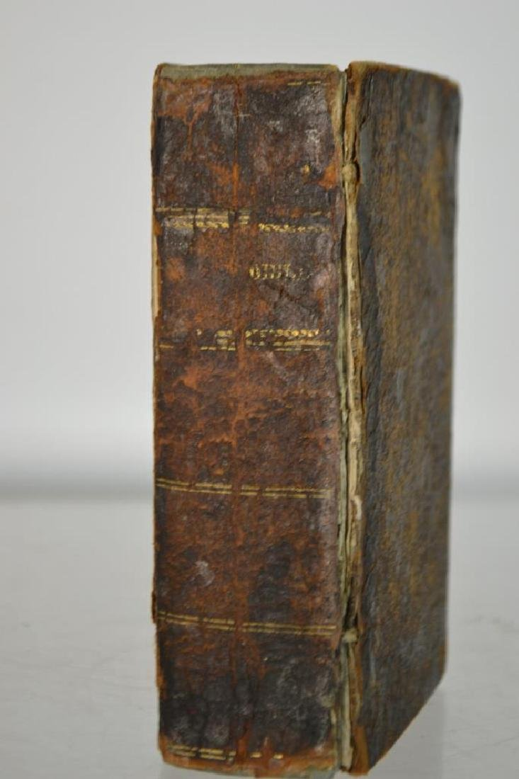 18th C Leather Bound Holy Bible (1792)