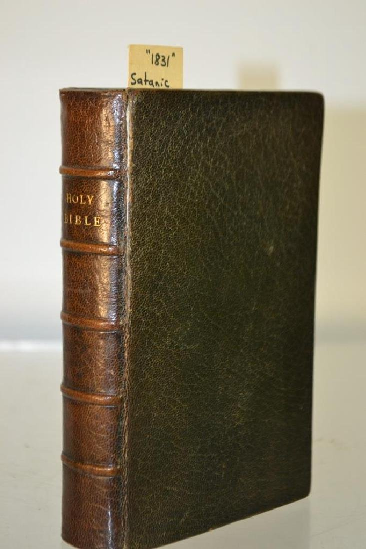 19th C Leather Bound Book (1831)