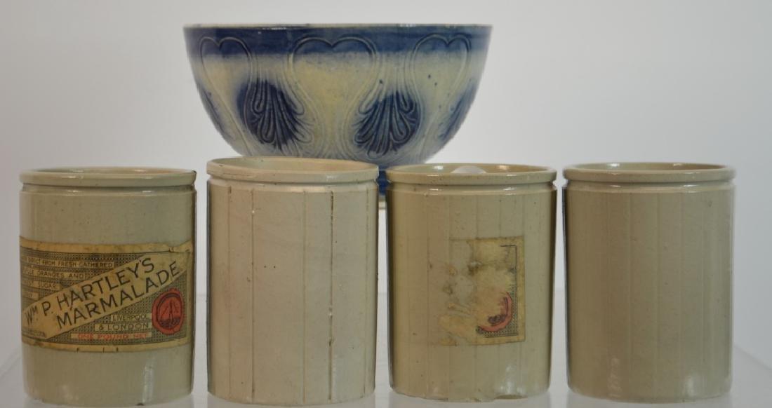 19th C Stoneware Grouping