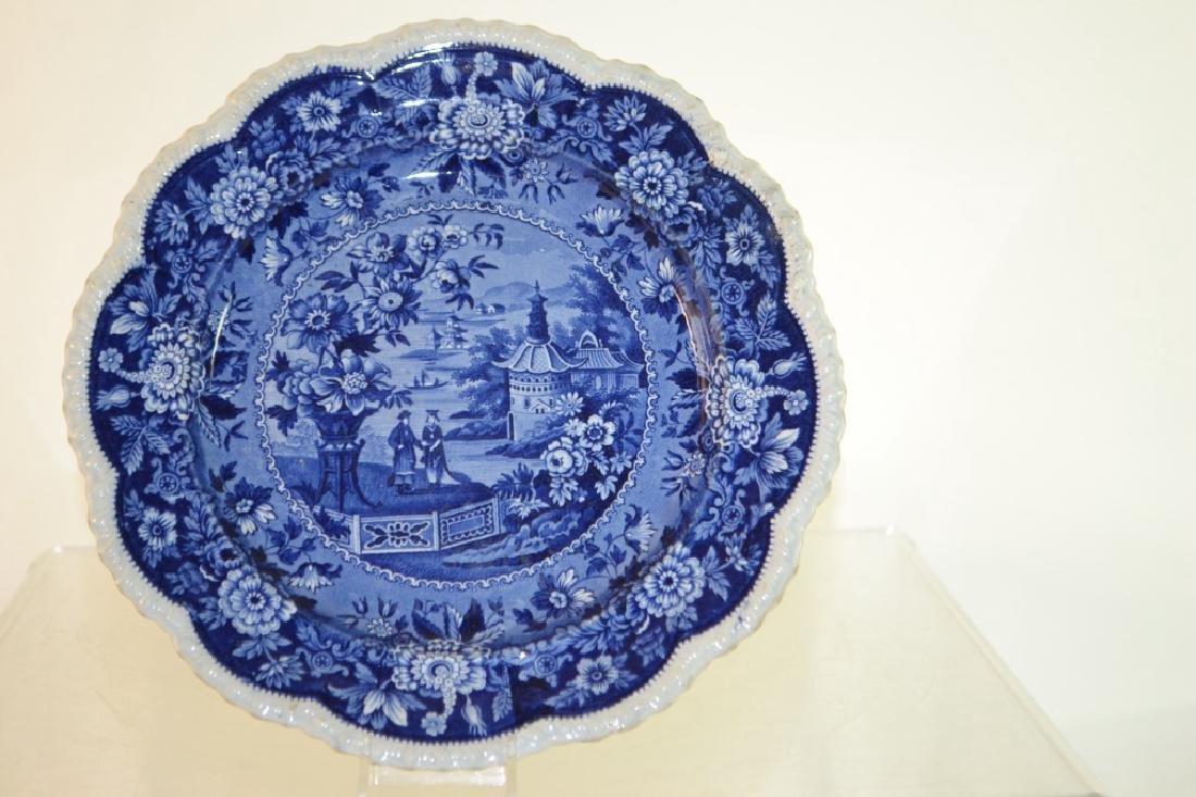 Ridgeway Blue Transfer Plate