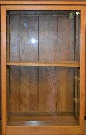 Exotic Wood Display Case