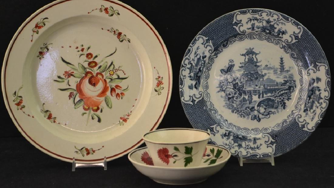 18th/19th C Soft Paste and Blue Transfer