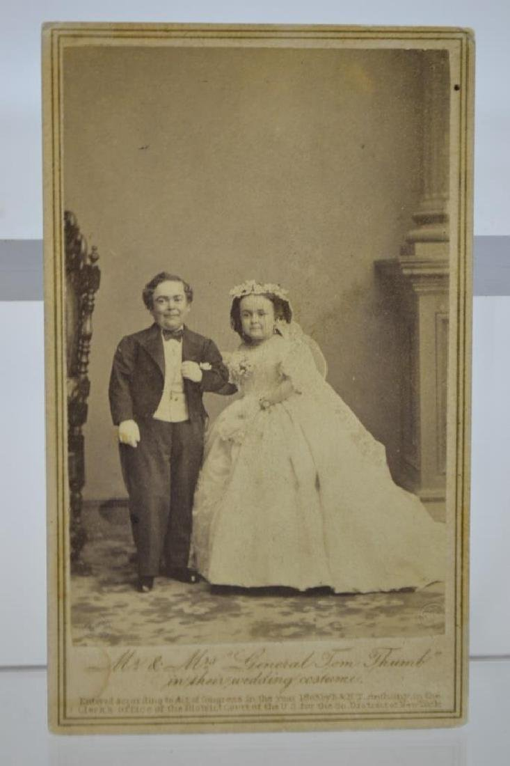 Charles Sherwood Stratton and Lavinia Warren
