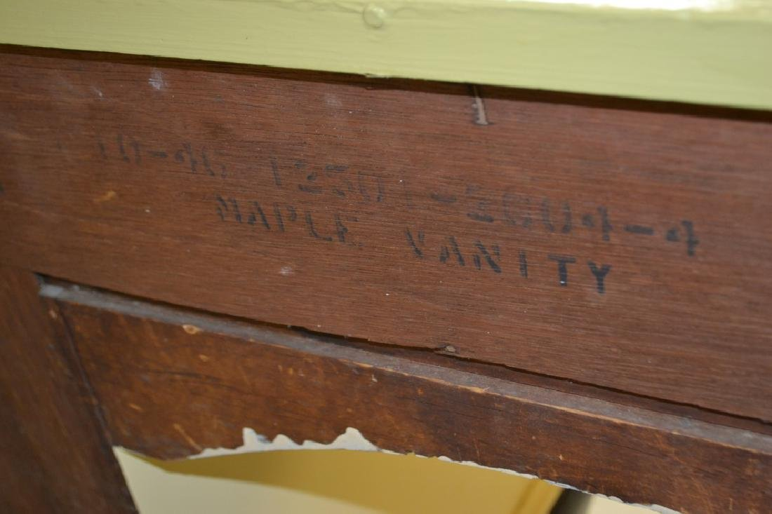 Painted 1940's Desk by Zerbe - 3
