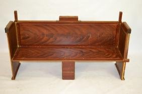 Artisan Made Child's Bench by Zerbe