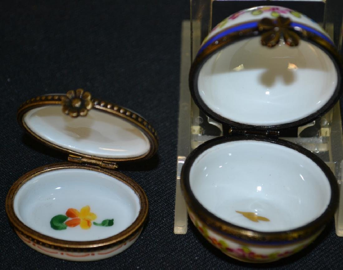 Two Limoges Enameled Boxes - 2