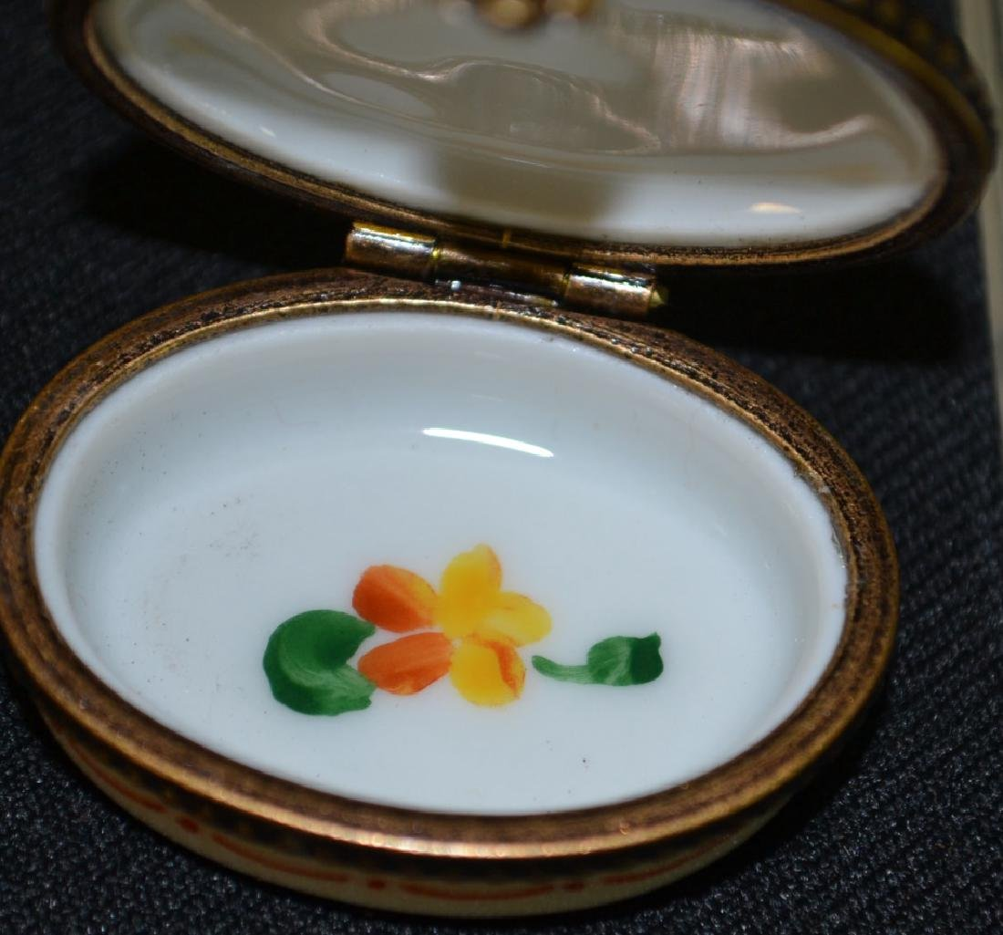 Two Limoges Enameled Boxes - 3