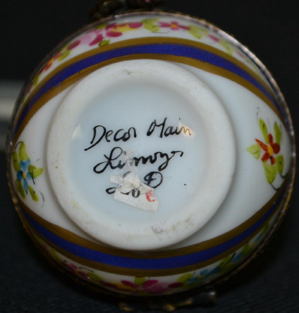 Two Limoges Enameled Boxes - 4