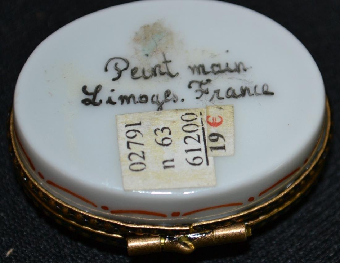Two Limoges Enameled Boxes - 5