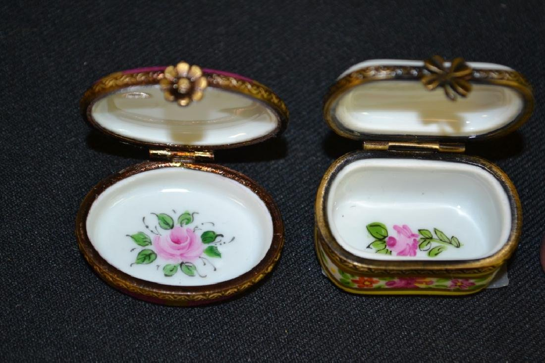 Three Limoges Enameled Boxes - 2