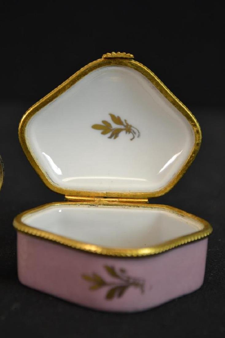 Three Limoges Enameled Boxes - 3