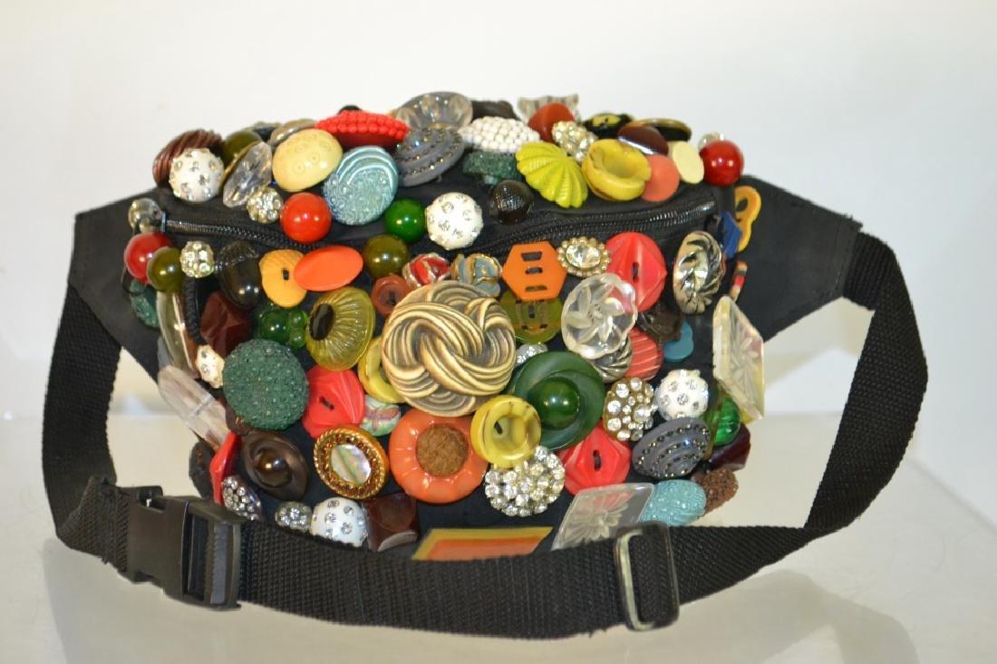 Custom Button Bag
