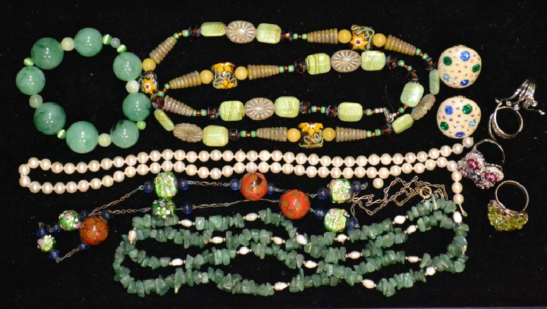 Jade,Pearl & Costume Grouping