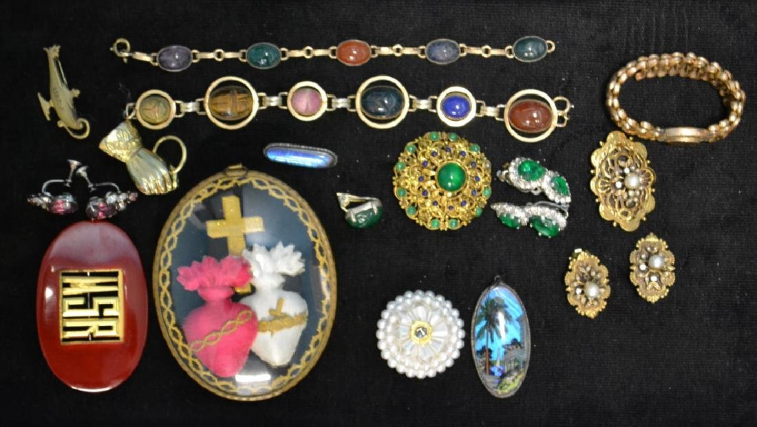 West Germany Brooch, Butterfly Jewelry & Others