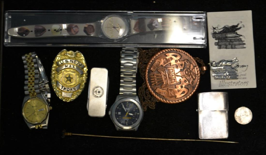 Three Watches & Other Misc. Smalls