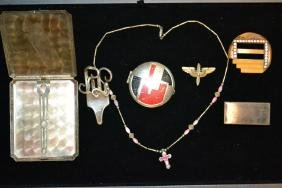 Collection of Vintage Dresser Items