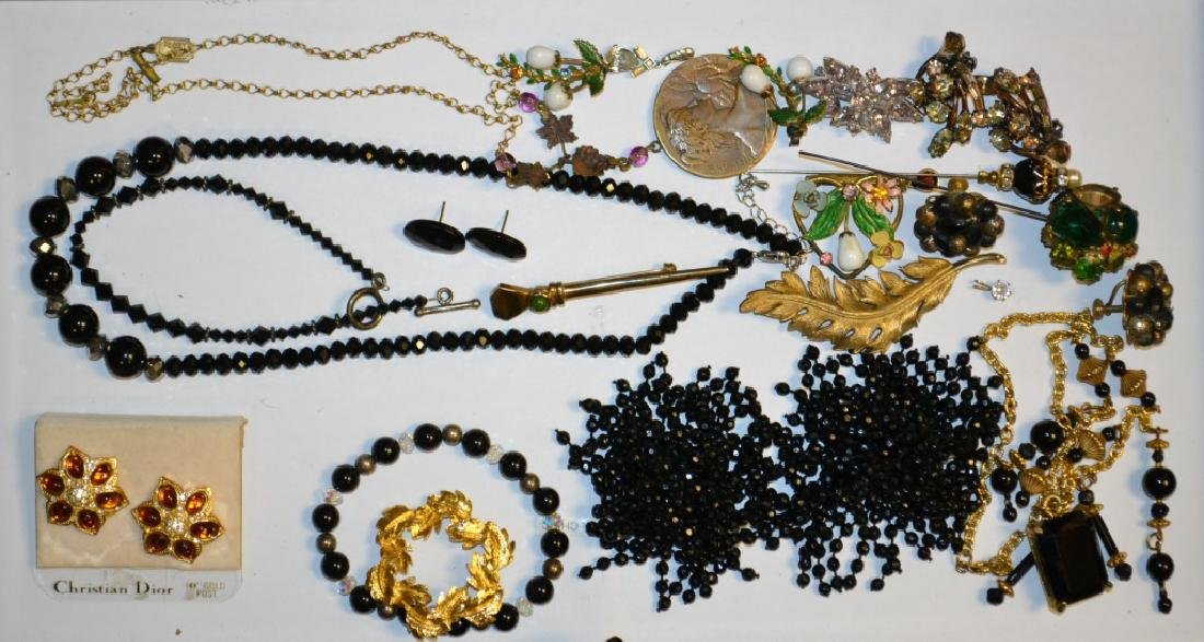 Costume Earrings, Necklaces and Pins