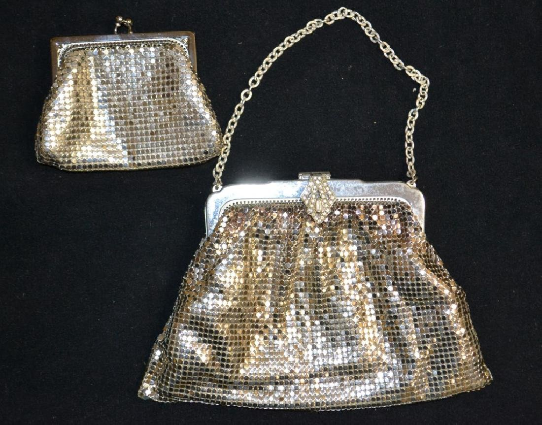 Whiting Davis Clutch & Matching Change Purse