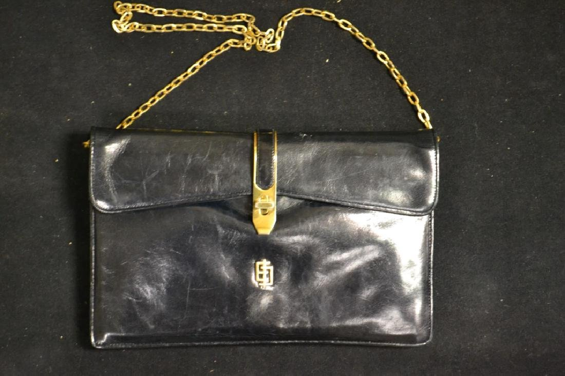 Vintage Emilio Pucci Leather Clutch(made in Italy)