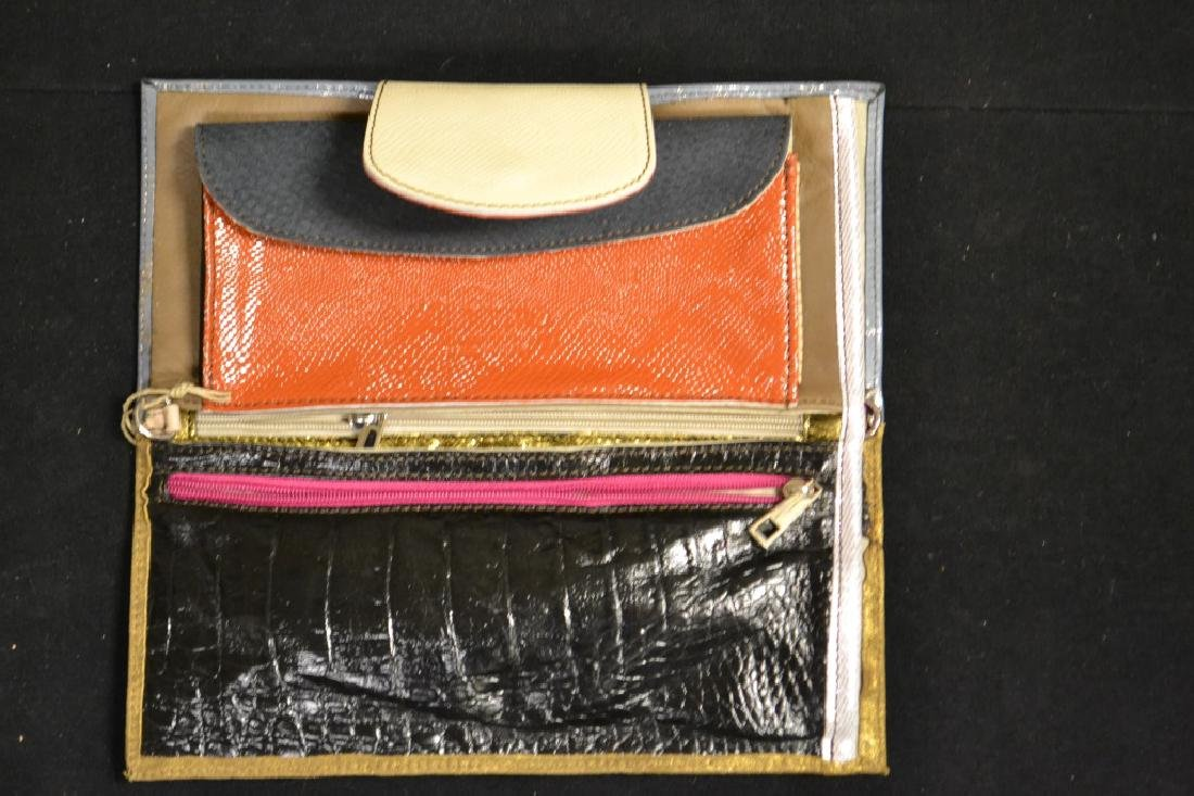 2 Designer Italian Leather Handbags - 2