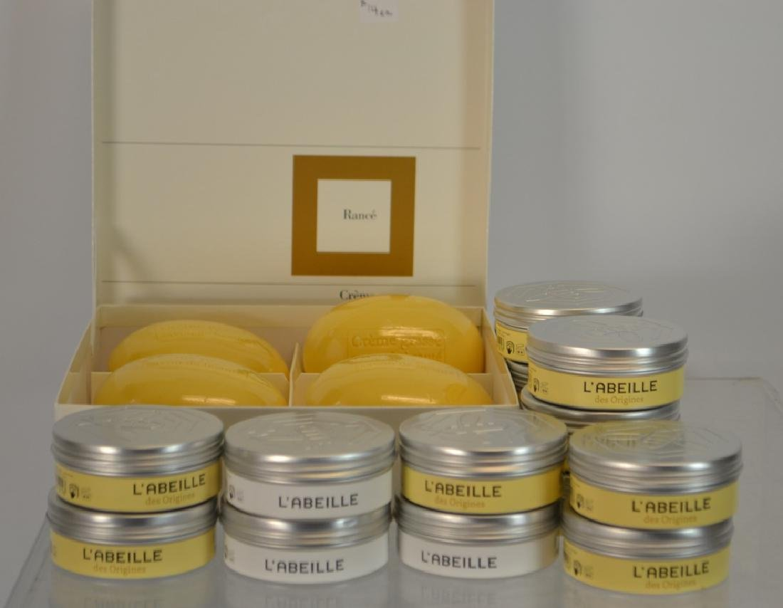 (16) 100 G. Bars of French Soap ( L'Abeille)