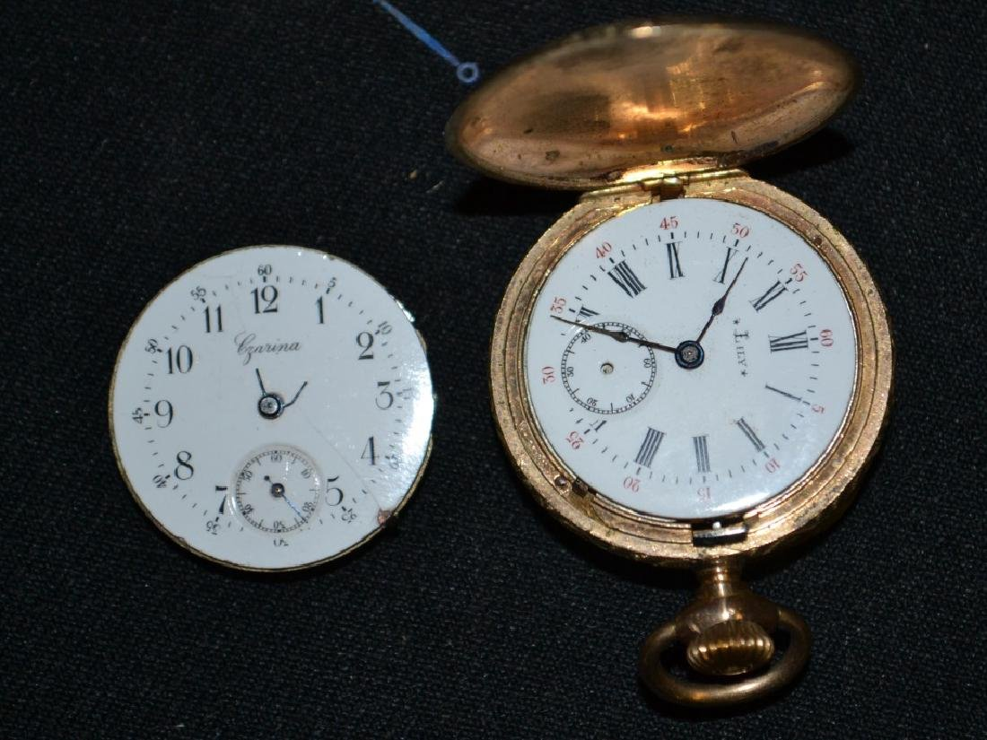 Lily Ladies Pocket Watch & Czarina Movement