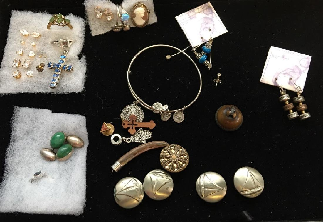 Costume Jewlery and Sterling Silver