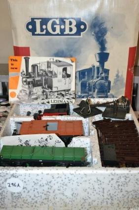 LGB Freight Train Set 20401, G gague