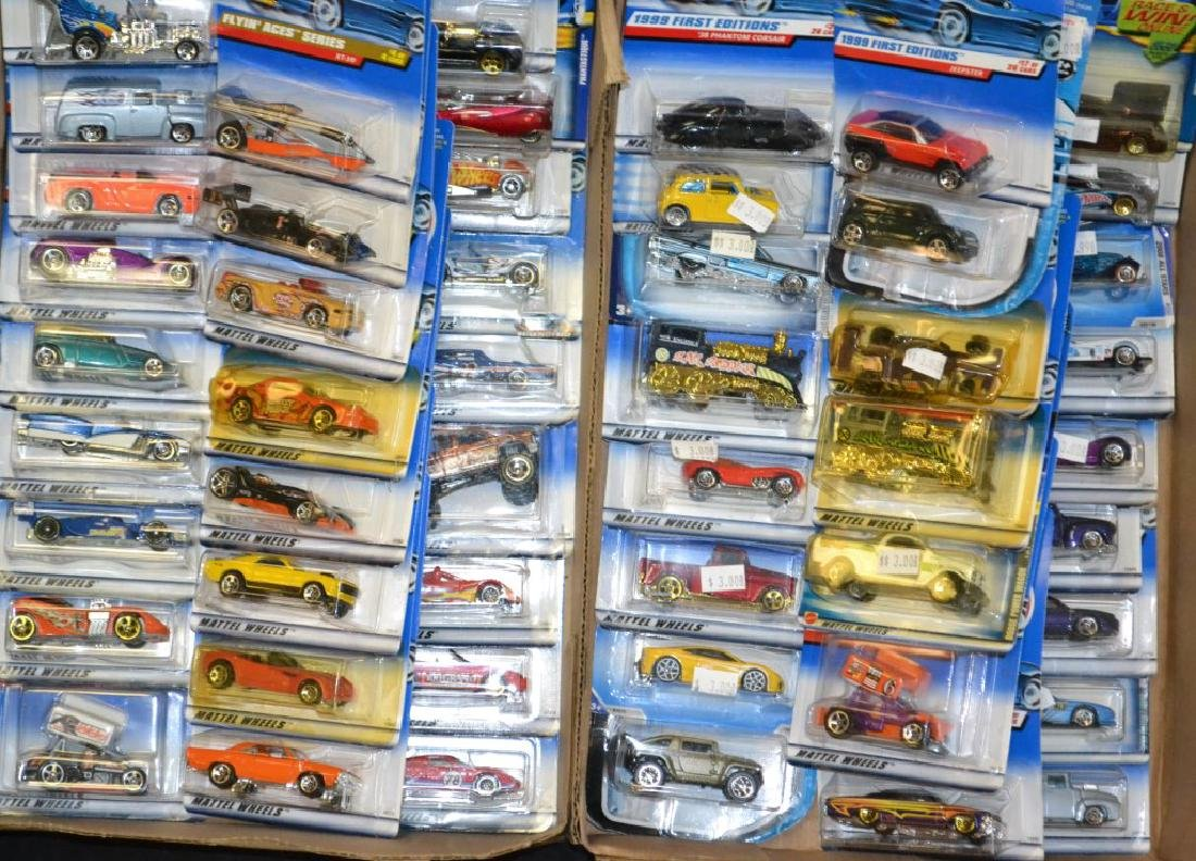 Grouping of Approx. 50 Hot Wheel Die Cast Cars