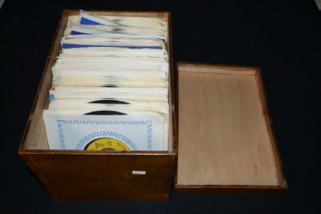 Grouping of Approx. 50 Various Artists 45's