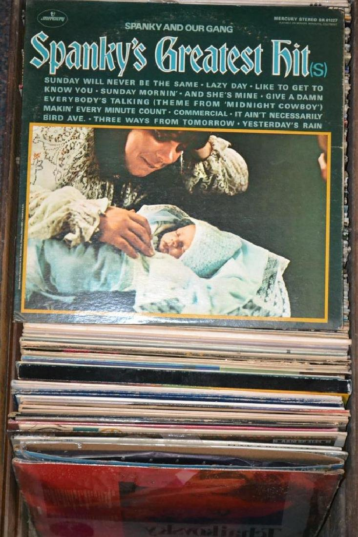 Approx. 50 Various Artists Records in Fruit Crate - 2