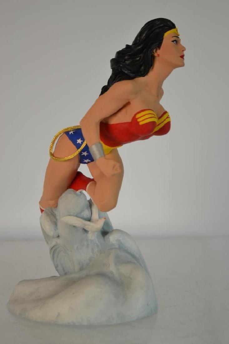 1995 D C Comics Hand Painted Wonder Woman Figure - 2